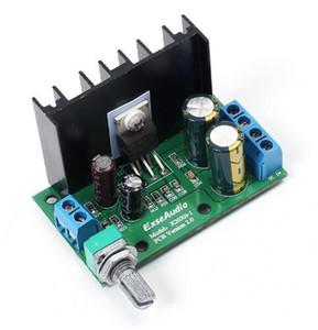Frete grátis! 1 pc / lote LM1875T DC 12-24 V 10-30 W Amp Mono Módulo Amplificador de Áudio Board Volume Ajustável 60 * 35 * 40mm TDA2050