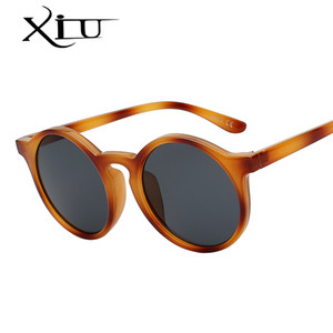 XIU Классический круглый год сбора винограда Sunglasse Женщины Женщины очки ретро Модные солнцезащитные очки UV400 Top Quality
