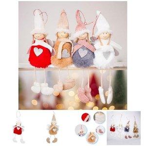 Cute Angel Plush Doll Christmas Decoration Pendant Creative Christmas Tree Ornaments Christmas Decoration For Home Navidad