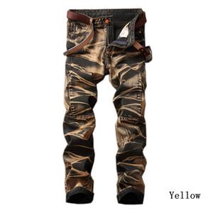 Raffreddare Lasperal Mens Vintage Jeans diritto maschio pantaloni a pieghe dei pantaloni di alta qualità Marchi Uomo Fit pantaloni del denim più il formato 29 -42