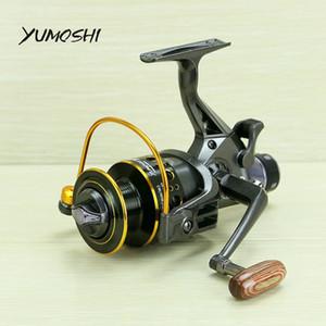 YUMOSHI 2017 novo 10 + 1 BB Frente e Traseira Drag carretéis 3000 4000 5000 6000 carretilhas de pesca Y18100706