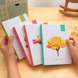 Bana Capa Dura Página Para Colorir Diary Ilustração Notepad Schedule Planner Diário Diário 2018 A5 Notebook WJ-XXWJ484-