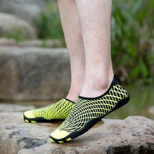 Sıcak Satmak 36-47 boyutu Erkekler Plaj Ayakkabıları Kadın Açık Yüzme Ayakkabı kaymaz Yürüyüş Çift yoga Shoes.1pair /