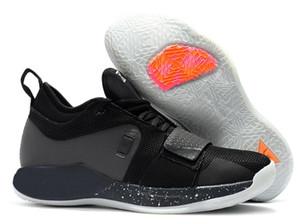 Yeni Varış Paul 2.5 PG II Ayakkabı PG2.5 2 S George Ayakkabı Kırmızı Beyaz Siyah Casual sneakers Boyut 40-46 online satış