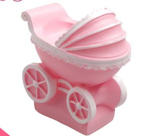 Оптовая продажа-Бесплатная доставка 3D Baby младенческая коляска в форме свечи силиконовые формы 6x5. 9x3.5 см фондант торт украшения инструменты DIY мыло плесень E336