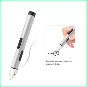 Nuovo arrivo display OLED 5a generazione 3D penna a bassa temperatura 5a generazione stampante 3d con ricariche filamento PCL