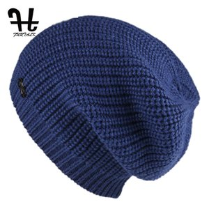 FURTALK kadınlar için şapka bahar örme skullies şapkalar 2017 yeni varış rahat kapaklar kaliteli kadın şapka D18110102