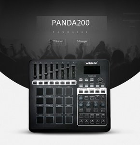 vendita all'ingrosso Panda200 Professional USB Drum Pad controller tastiera MIDI