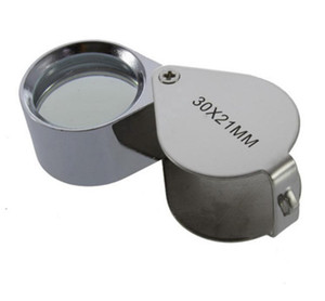 Wholesale Shipping Fast 180 PCS 30x 21mm Jewelers Eye Magnifying Glass Magnifier Loupe SN885