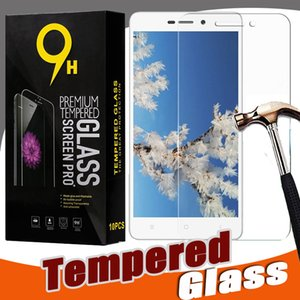 Protector de pantalla de vidrio templado 9H Protector de película Protector para Xiaomi Mi 9 SE 8 6 Plus 6X Note Mix Max 3 Pro F1 Play Go con paquete minorista