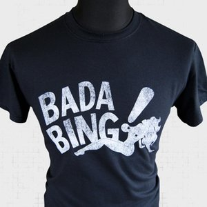 Bada Bing Sopranos T shirt retrò fresco Mob Gangster Vintage Mafia nuove magliette divertente SUPERA IL T Nuovo unisex divertente Top
