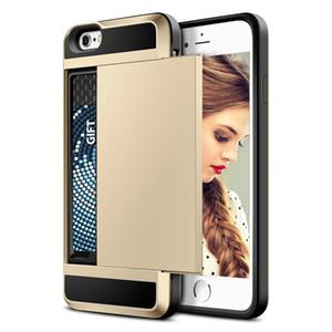 Étui antichoc en caoutchouc antichoc de protection pour carte de pare-chocs pour carte mémoire pour iPhone8