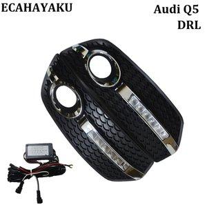 estilo de carro de alta qualidade Luz do Dia DRL para Audi Q5 2009-2013 LED diurnas Kits Luzes Nevoeiro tampa da lâmpada