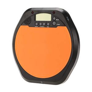 Digital Drummer Training Practice Drum Pad Metronome w  Earphone & Batteries