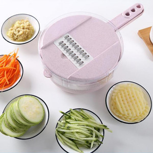 Nouveau Manuel Légumes Fruits Chopper Cutter Multifonctionnel Oeuf Blanc Séparateur Cuisine Accessoires Portable Veggie Shred Slicer