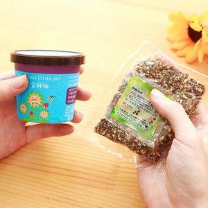 Mini Saksı Bitkileri Yaratıcı Nane Ayçiçeği Lavanta Pot Kültür Bebek Hediye Mikro Peyzaj Ofis Masaüstü Süsleme 1 2zm Hh