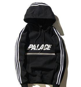 Brand Design Hoodies Luxus Hoodies Männer Langarm Pullover 3m Reflektierende Sweatshirts Hip Hop Streatwear Lose Sport Anzug Black Tracks