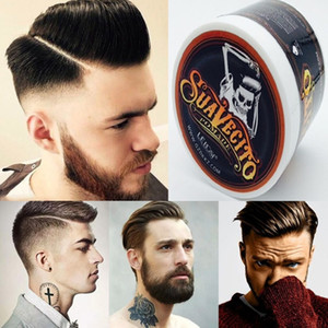 Suavecito Stereotypes wax hair wax hair color cream men hair gel strong modelling finalize the gray white mud oil