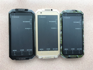 Оригинальный H-Mobile V6 + мобильный телефон 5-дюймовый MTK6580 четырехъядерный процессор Android 5.1 OS 512 МБ RAM 8 ГБ ROM Водонепроницаемый IP65 Wi-Fi GPS 3G WCDMA смартфон