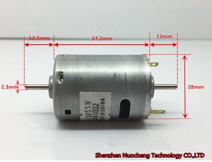Yepyeni ve orijinal Mabuchi 12V 385 mikro DC motoru RS-385SH-2270 çift çıkış mili yüksek hızlı 10000rpm kömür motoru ~
