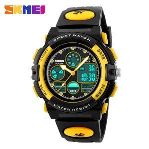 Cheap Children SKMEI Children's Watches Sport Military Fashion Kids Digital Quartz LED Watch For Girls Boys Waterproof Cartoon Wristwatch