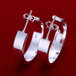 Venda quente 925 Sterling Silver Earring, XMAS Moda Novo Estilo 925 Semicírculo De Prata ouvido butil Para as mulheres Moda Jóias Link Itália Adorável E78