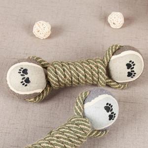 Pet Chew Toys for Dog Filhote de Cachorro Dentes Produtos para Treinamento de Limpeza Pet Suprimentos corda de Algodão brinquedo de tênis molar dog toy ball