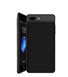 Boîtier de batterie rechargeable externe portable Alimentation Chargeur de protection de charge de cas Banque d'alimentation pour iPhone 8/7 / 6s / 6, plus 4,7 pouces