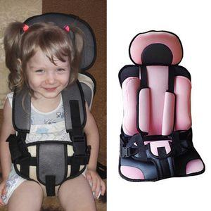 Assento 0-5 Anos Bebé carro portátil Crianças Safety Car Assentos Cadeiras infantis ajustáveis Atualizado Assentos Versão espessamento crianças