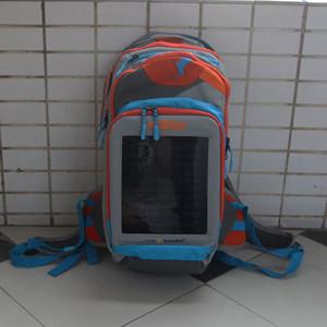 borsa di carica di energia solare zaino moto borsa da viaggio carica moto zaino