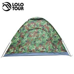 Al aire libre 4 personas Camuflaje Tienda de campaña Playa Turista Pesca Senderismo Tenda Pérgola Lona Barraca Toldo Ultralight Tente