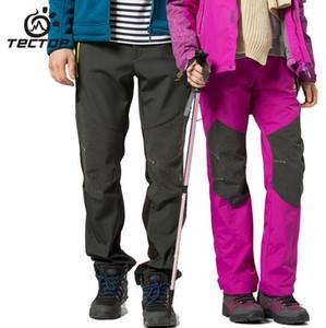 2018 Winter Waterproof Windstopper Softshell Pants Outdoor Climbing Hiking Pants Men Women Camping Trekking Trousers Fishing Cargo Pant AU81