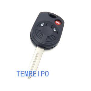 Reemplazo de 3 botones de la funda Key Fob para Ford Remote Key 2012 2013 2014 2016 2016