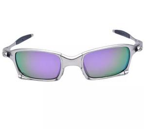 Marque d'origine Aolly Juliet X Lunettes de soleil à monture en métal Romeo Cyclisme Homme Lunettes polarisées Lunettes Oculos Mode Optique de plein air polarisant