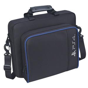 PS4 슬림 게임 Sytem 가방 캔버스 케이스 보호 어깨 손잡이 가방 핸드백 플레이 스테이션 4 PS4 프로 콘솔에 대한 원래 크기