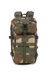 Sport Ciclismo outdoor borse Tactical Holster alpinismo viaggio zaino campeggio esercito camuffamento sacchetto tattico zaino 45L 3P zaino