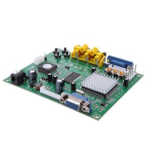 Freeshipping GBS8200 1 Canal Módulo de Relé Placa CGA / EGA / YUV / RGB Para VGA Arcade Game Video Converter para Monitor CRT / PDP Monitor LCD