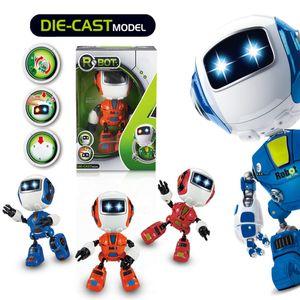 Mini Electric LED Ton Intelligente Legierung Roboter-Spielwaren-Neuheit Telefon-Standplatz für Kinder Spielzeug Weihnachtsgeschenke