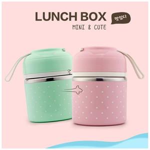 Lunch Box Thermal Essen Bento Box Edelstahl Brotdosen für Kinder, Schüler Tragbarer Lunch Box