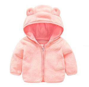 شتاء دافئ الكرتون الدب معطف طفل الدببة ملابس الأولاد grils الخريف الصوف المعاطف لطيف الاطفال الرضع طفل أبلى بالجملة