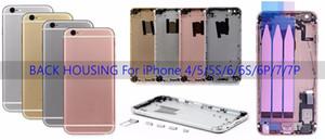 Für Apple iPhone 6s plus Gehäuse für die Rückseite der Batterie Batterieabdeckung Hintere Türgehäuse mit Flexkabel für iPhone 6s plus Gehäuse
