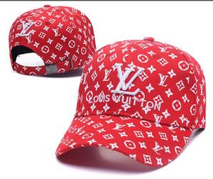 2019 neue Sommermarken Mens Designer Hüte einstellbare Baseballmützen Dame Mode Gorras Hut Trucker Casquette Frauen Freizeit Kappe Knochensport
