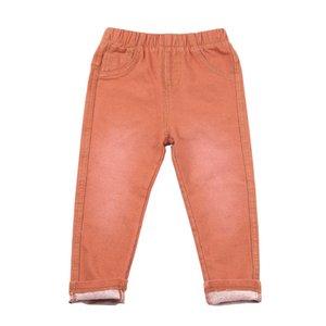 Nuevo diseño de alta calidad moda para niños Jeans bebés y niñas sólidos Cotton100% Solid Leisure Pant