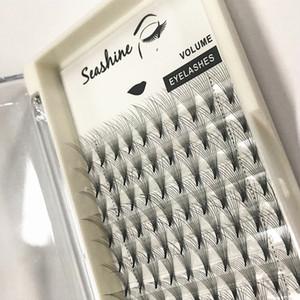 Seashine 10D Volume Wimpernverlängerung Top Qualität Pre Made Fans Hitzegebundene Eigenmarke Freies Verschiffen Fabrik Direktverkauf Großhandelspreis