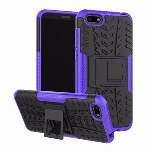 Для Huawei Honor Huawei 7S Y5 премьер Y5 2018 Case Soft TPU Hybrid Доспех Silicon Gel Skin Protection Hard Shell Cover