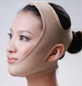 Новое прибытие Маркетинг бинты кожи лица Пояс Уход Форма и Lift Уменьшить Двойной подбородок маска для лица прореживание диапазона tanwc