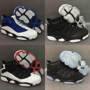 seis 6 anillos de baloncesto de hombre zapatos French Blue Bulls Cool Gris Negro Plata Gris Alternativo Oreo Chameleon 6s deportes Zapatillas de deporte