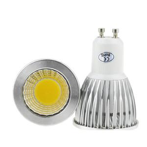 Bulb 1pcs Super Bright 9W 12W 15W GU10 LED COB 110V 220V Dimmable levou holofotes quente / frio Lâmpada branca GU 10 LED