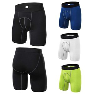 4 Colors Men Sexy Fitness Sports Tights Quick-drying Compression Breathable Shorts Athletic Training Skin Tight Base Layer Short