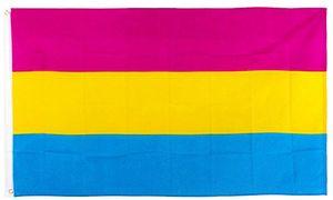 прямая заводская цена 100% полиэстер 90 * 150 см Omnisexual LGBT pride omnisexuaityl pansexuality pan pansexual флаг для украшения